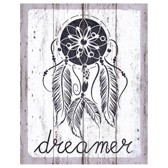 PLACA DECORATIVA 19X24 DREAMER