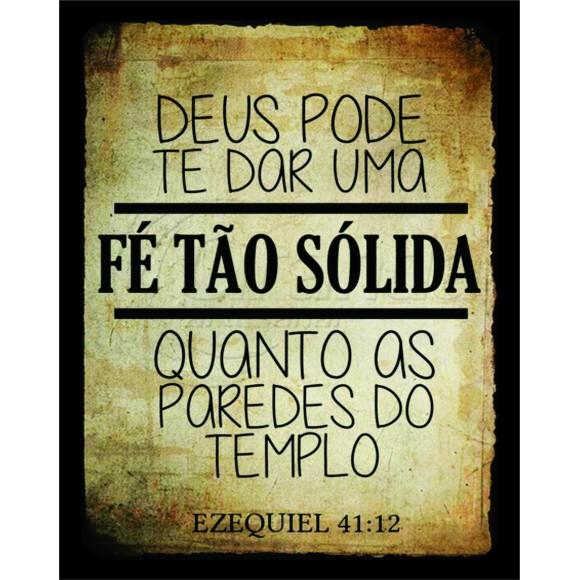 PLACA DECORATIVA 19X24 EZEQUIEL 41:12