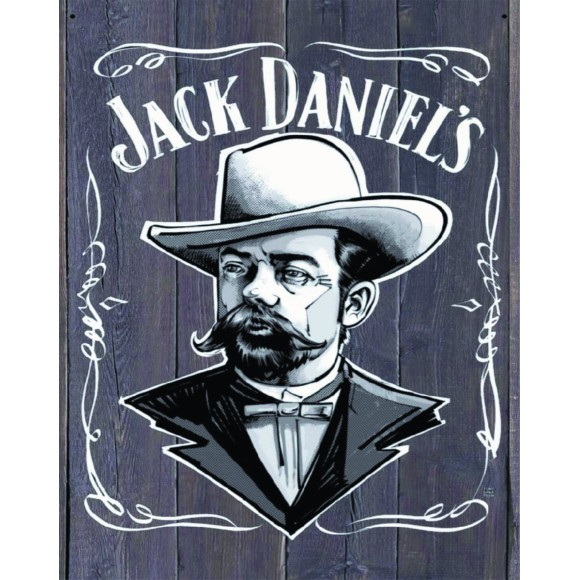 PLACA DECORATIVA 19X24 JACK D
