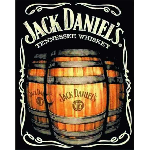 PLACA DECORATIVA 19X24 JACK DANIELS BARRIL