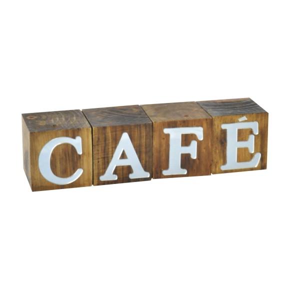 CUBOS CAFÉ ESPELHADO PINUS LUXO