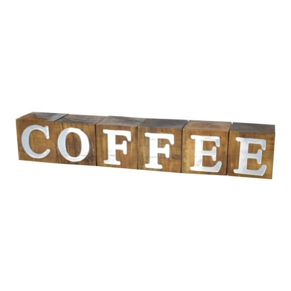 CUBOS COFFEE ESPELHADO PINUS LUXO
