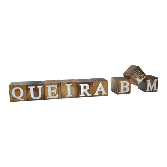CUBOS QUEIRA BEM ESPELHADO PINUS LUXO