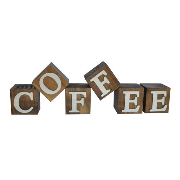 CUBOS COFFEE BRANCO PINUS LUXO
