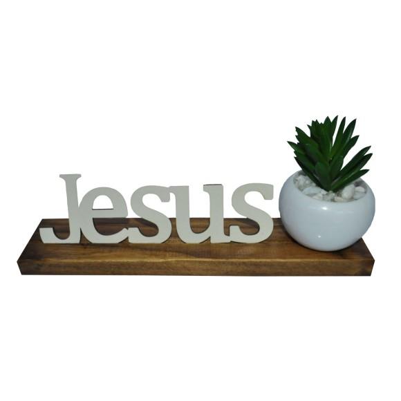 BASE MAIOR PALAVRA JESUS PINUS LUXO