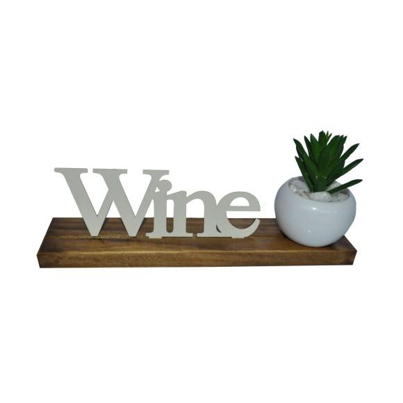BASE MAIOR PALAVRA WINE PINUS LUXO